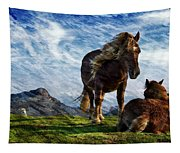 On The Range Tapestry