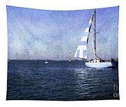On The Water 3 - Venice Tapestry