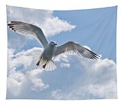 On The Wings Of A Gull Tapestry