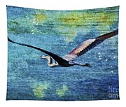 On The Wings Of Blue Tapestry