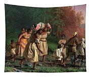 On To Liberty Tapestry