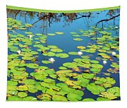 Once Upon A Lily Pad Tapestry