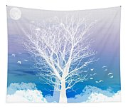 Once Upon A Moon Lit Night... Tapestry