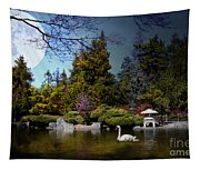 Once Upon A Time Under The Moon Lit Night . 7d12782 Tapestry