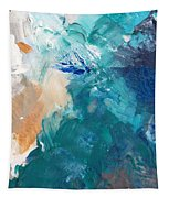 On A Summer Breeze- Contemporary Abstract Art Tapestry
