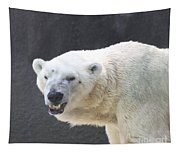 One Angry Polar Bear Tapestry