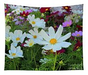 One Flower Stands Out Tapestry
