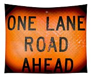 One Lane Road Tapestry