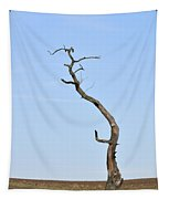 One Lonely Tree Tapestry