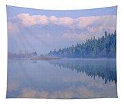 One Mile Lake, Near Pemberton, Bc In Tapestry