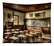One Room School Tapestry
