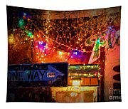 One Way Night Cafe - Nola Tapestry