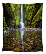 Oneonta Falls Tapestry
