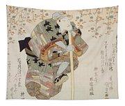 Onoe Kikugoro IIi As Shimbei Tapestry