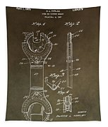 Open End Ratchet Wrench Patent Tapestry