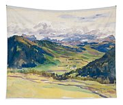Open Valley. Dolomites Tapestry