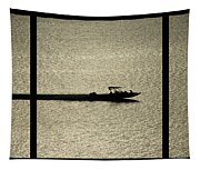 Open Waters Triptych Tapestry