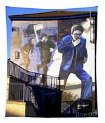 Derry Mural Operation Motorman  Tapestry
