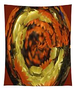 Orange And Yellow Fantasy Tapestry