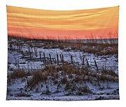 Orange Dawn Tapestry
