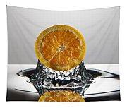 Orange Freshsplash Tapestry