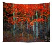 Orange Glory Tapestry