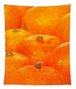 Orange Oranges Tapestry