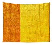 Orange Pineapple Tapestry