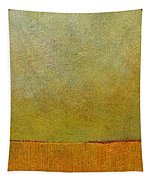Orange With Red And Gold Tapestry