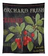 Orchard Fresh Cherries-jp2639 Tapestry