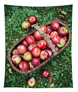 Orchard Fresh Picked Apples Tapestry