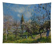 Orchard In Spring Tapestry