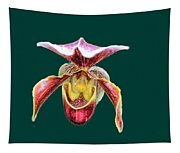 Orchid Alone Tapestry