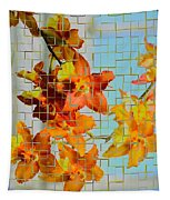Orchid Drapes Tapestry