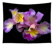 Orchid Embrace Tapestry