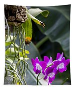 Orchid In Bloom Tapestry