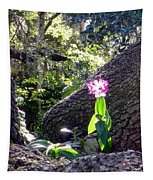 Orchid In Tree 2 Tapestry