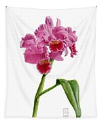 Orchid - Lc. Culminant La Tuilerie Tapestry