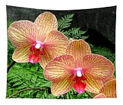 Orchid Pair Tapestry