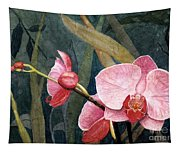 Orchid Trio Tapestry