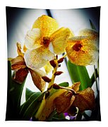 Orchid Vignette Tapestry