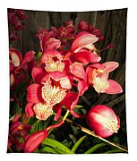 Orchids Galore Tapestry