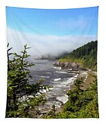 Oregon Coastline Tapestry