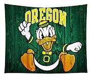 Oregon Ducks Barn Door Tapestry