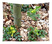 Oregon Grape Painting Tapestry