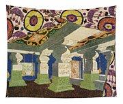 Oriental Scenery Design Tapestry