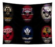 Original Six Jersey Mask Tapestry