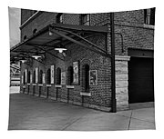 Oriole Park Box Office Bw Tapestry