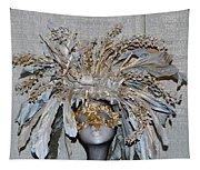 Ornamental Mask Tapestry