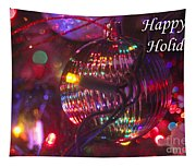 Ornaments-2038-happyholidays Tapestry